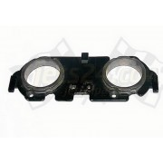 Carburetor plate, muffler adaptor