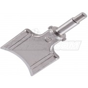 Exhaust valve piston