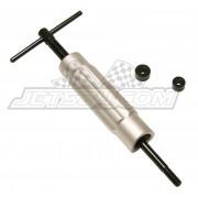 Piston pin puller tool