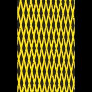 "Mat sheet ""Cut Diamond""  yellow on black"