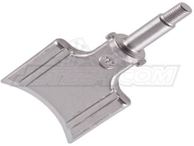 Exhaust valve piston