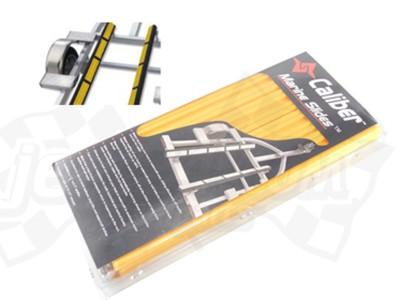 Trailer bunk pads, slides (yellow)