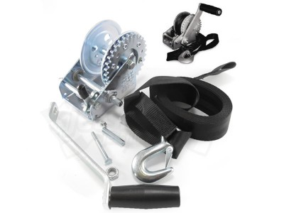 """Trailer winch assy """"S"""" for jetski and smaller boats up to 500 kg"""