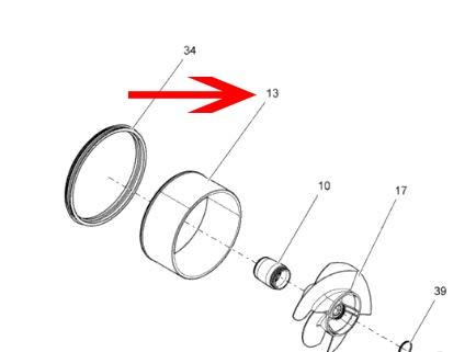 Impeller housing wear ring - Shop für Jetski Ersatzteile & Zubehör
