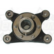 Drive shaft seal carrier, damping support