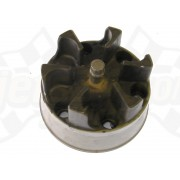 Coupling flange, clutch, PTO