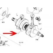 Crankshaft (with entry of old rebuildable crankshaft)