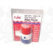 Bilge pump (500), automatic