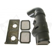 Air cleaner / air filter / flame arrester assy