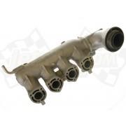 Exhaust manifold, muffler 1