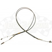 Fuel valve shift cable
