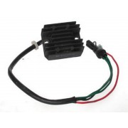 Voltage regulator, rectifier