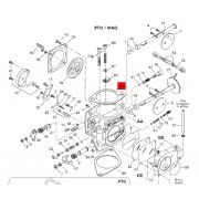 Carburetor Gasket, Mikuni (41 mm)