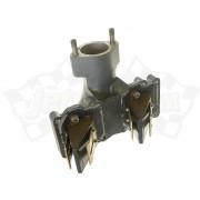 Intake manifold with reed valve assy / reeds