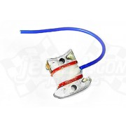 Stator plate pulser coil