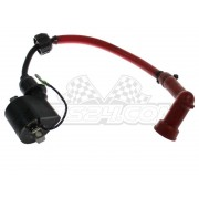 Ignition coil with high tension cord assy (short)