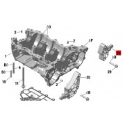 Front Engine Bracket, Exhaust