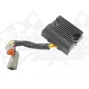 Voltage regulator, rectifier