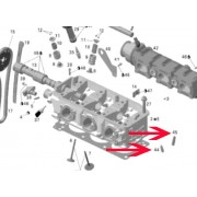 Cylinder head valve guide
