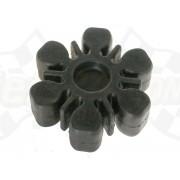 Damper rubber coupling