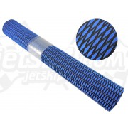 "Mat sheet ""Diamond style"" blue with black"