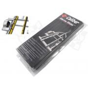 Trailer bunk pads, slides (black)