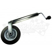 Trailer jockey wheel 48 mm tube